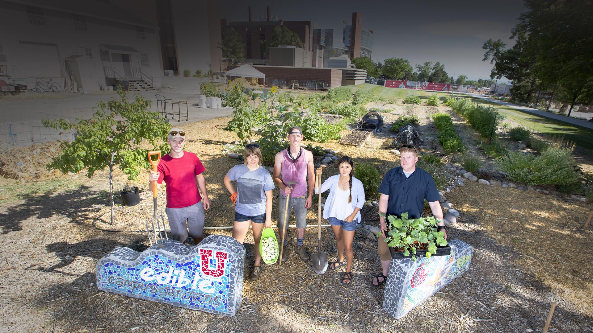 University of Utah Edible Campus Gardens