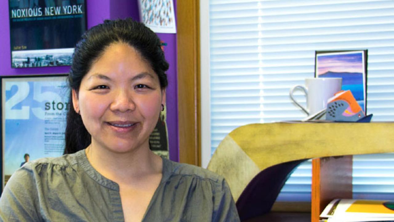 Professor Julie Sze of UC-Davis