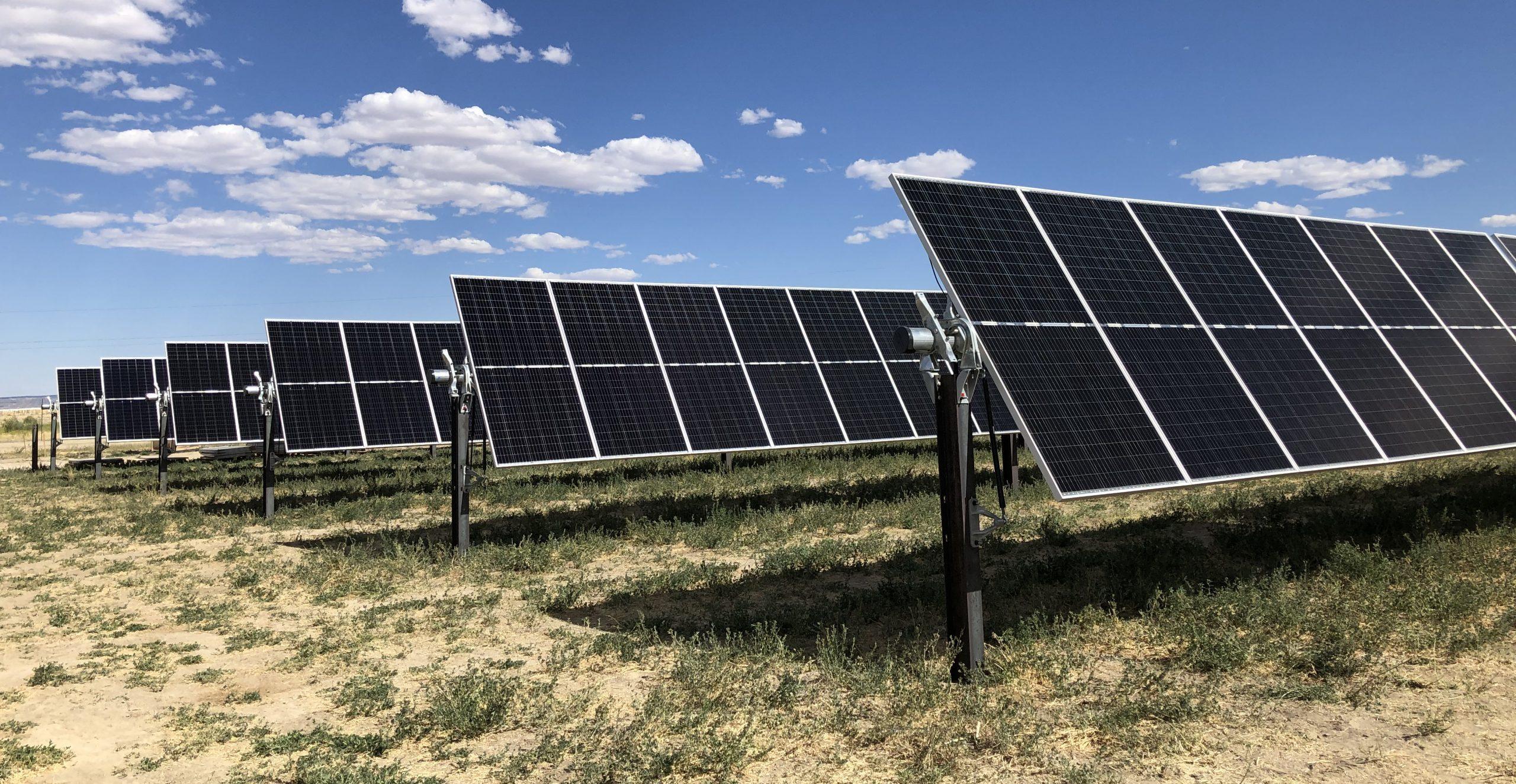 DESRI's Hunter Solar site in Emery County, Utah.